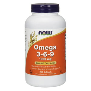 Omega 3-6-9 250 Softgels by Now Foods