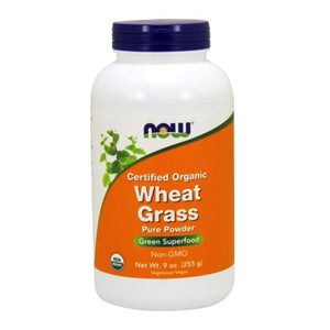 Organic Wheat Grass 9oz by Now Foods
