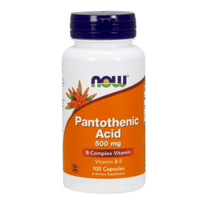 Pantothenic Acid 100 Caps by Now Foods (2584170332245)