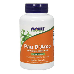 Pau D' Arco 100 Caps by Now Foods (2584170692693)