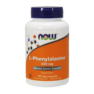 L - Phenylalanine 120 Capsules by Now Foods