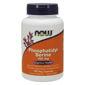 Phosphatidyl Serine 120 Vcaps by Now Foods (2584171511893)