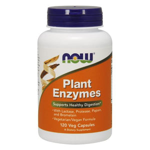 Plant Enzymes 120 Vcaps by Now Foods