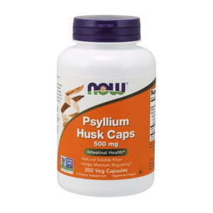 Psyllium Husk 200 Caps by Now Foods (2584173379669)