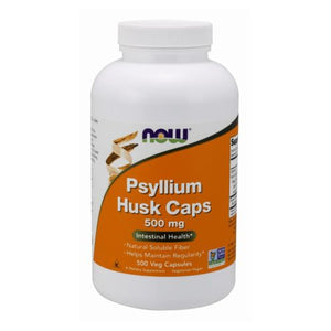 Psyllium Husk 500 Caps by Now Foods (2584173510741)