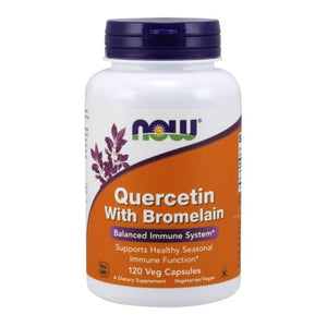 Quercetin 120 Vcaps by Now Foods (2584174526549)