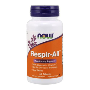 Respir-All Allergy 60 Tabs by Now Foods (2584175476821)