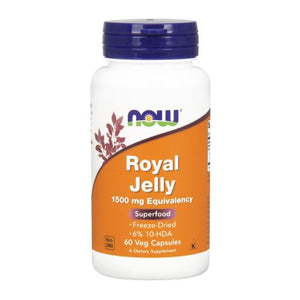 Royal Jelly 60 Caps by Now Foods (2584176132181)