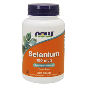 Selenium 250 Tabs by Now Foods (2584177377365)
