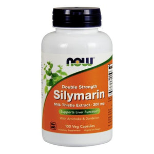 Silymarin Double Strength 100 Veg Caps by Now Foods (2584178163797)