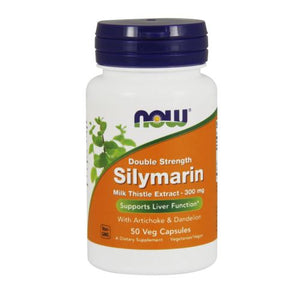 Silymarin 50 Veg Capsules by Now Foods