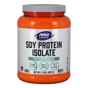 Soy Protein Isolate Unflavored, 2 lbs by Now Foods