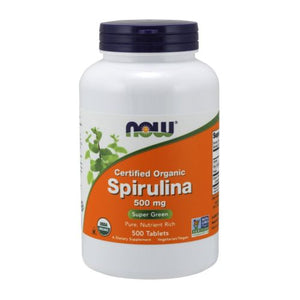 Spirulina 500 Tabs by Now Foods (2584179146837)