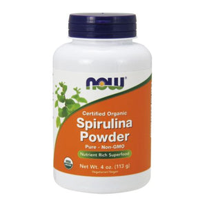 Spirulina Powder 4 OZ by Now Foods (2584179277909)