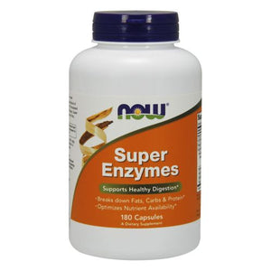 Super Enzymes 180 Caps by Now Foods