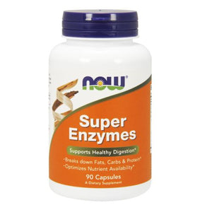 Super Enzymes 90 Caps by Now Foods (2584180260949)