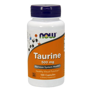 Taurine 100 Capsules by Now Foods