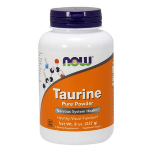 Taurine Pure Powder 8 OZ by Now Foods (2588909371477)