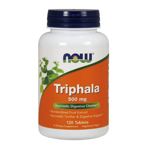 Triphala 120 Tabs by Now Foods