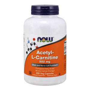 Acetyl-L Carnitine 200 Caps by Now Foods (2588952592469)