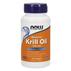 Neptune Krill Oil 60 Sgels by Now Foods (2584203624533)