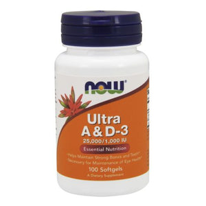 Ultra A & D3 100 Softgels by Now Foods