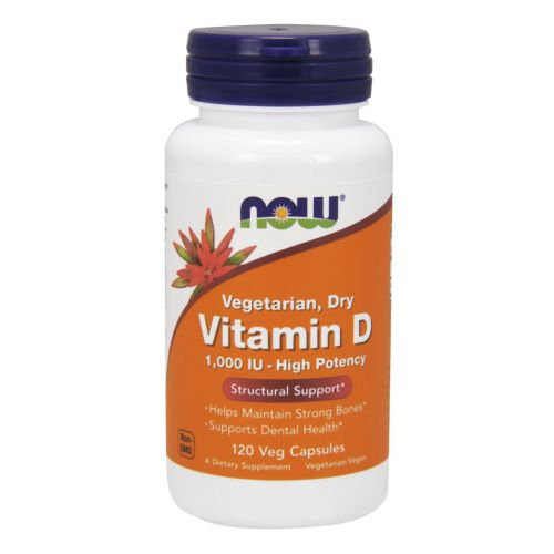 Vitamin D 1000 IU 120 Vcaps by Now Foods