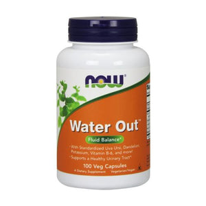 Water Out Herbal Diuretic 100 Vcaps by Now Foods (2584230723669)