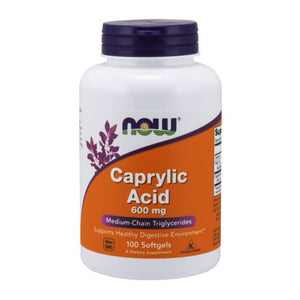Caprylic Acid 100 Softgels by Now Foods (2584231280725)