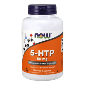 5-HTP 180 Caps by Now Foods (2584236589141)