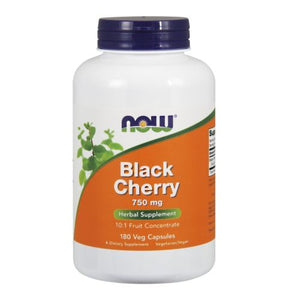 Black Cherry Fruit Extract 180 Vcaps by Now Foods (2588997648469)