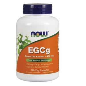 EGCg Green Tea Extract 180 Vcaps by Now Foods (2584236785749)
