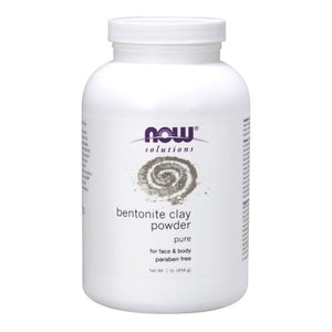 Bentonite Powder 1 Lb by Now Foods (2584243339349)