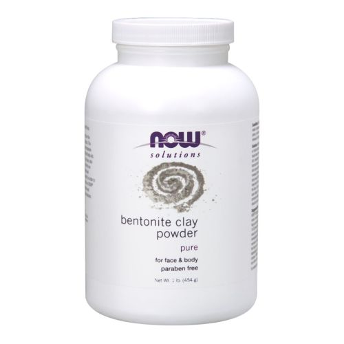Bentonite Powder 1 Lb by Now Foods,