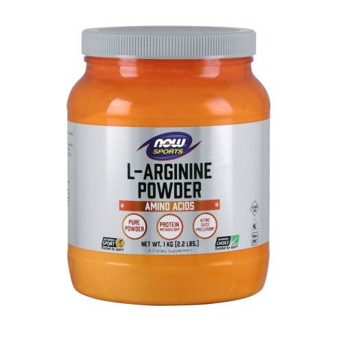 L-Arginine Pure Powder 2.2 Lbs by Now Foods