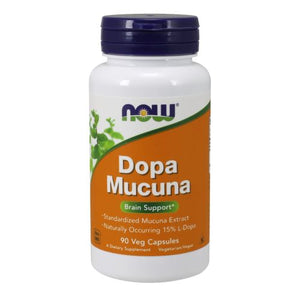 DOPA Mucuna 90 Veg Capsules by Now Foods