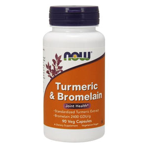 Tumeric & Bromelain 90 Vcaps by Now Foods (2584248811605)