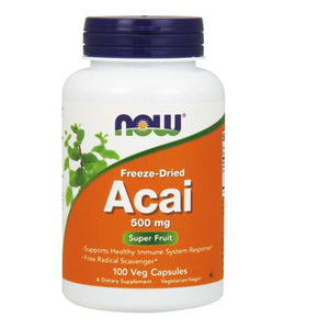 Acai Organic Freeze-Dried 100 Vcaps by Now Foods