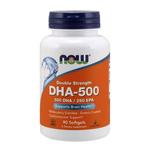DHA-500 90 Softgels by Now Foods (2584249598037)