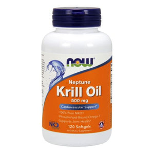 Neptune Krill Oil 120 Softgels by Now Foods (2584249696341)