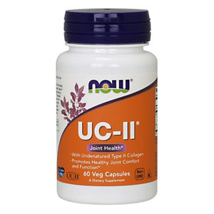UC-II Type II Collagen 60 Vcaps by Now Foods (2587250950229)