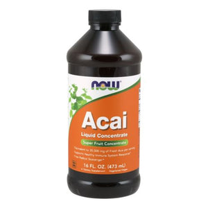Acai Liquid Concentrate 16 oz by Now Foods (2587251146837)