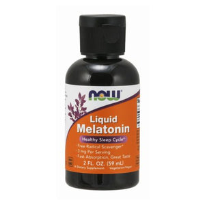 Melatonin 2 oz Liquid by Now Foods (2587251343445)