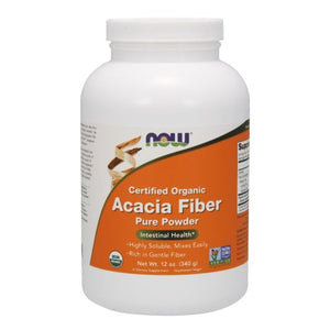 Acacia Fiber Organic Powder 12 oz by Now Foods (2587252162645)
