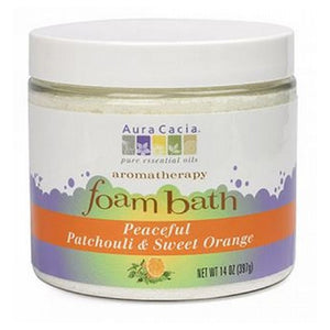 Aromatherapy Foam Bath Patchouli/Orange 14 Oz by Aura Cacia (2588803858517)