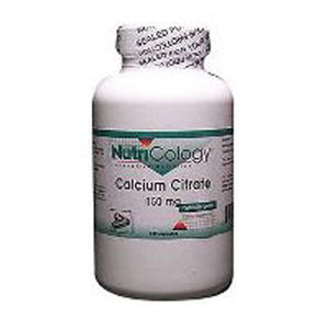 Calcium Citrate 180 Caps by Nutricology/ Allergy Research Group (2584013602901)