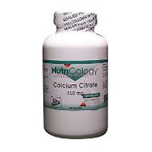 Calcium Citrate 180 Caps by Nutricology/ Allergy Research Group