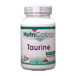 Taurine 100 Caps by Nutricology/ Allergy Research Group