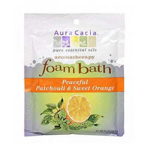 Aromatherapy Foam Bath Patchouli/Orange 2.5 oz by Aura Cacia (2588859105365)