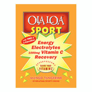 Sport Hydrating Drink Mango Tangerine, 30 Ct by Ola Loa Products